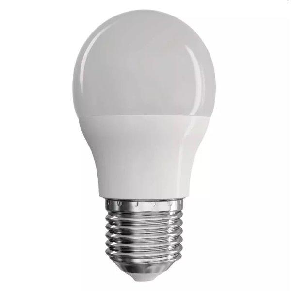 EMOS LED Žiarovka Classic Mini Globe 8W E27, teplá biela