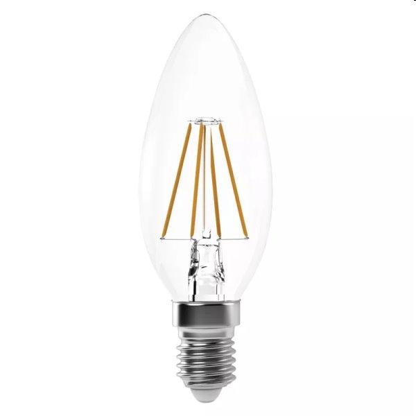 EMOS LED Žiarovka Filament Candle 4W E14, teplá biela