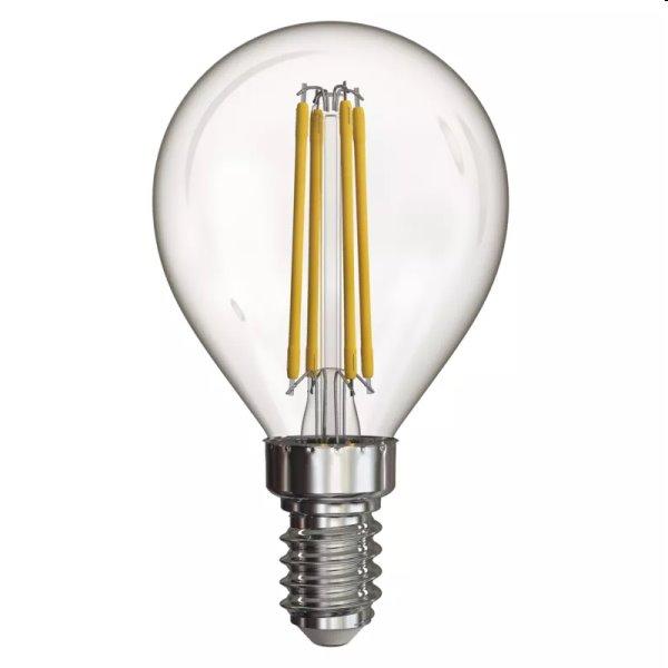 EMOS LED Žiarovka Filament Mini Globe 4W E14, neutrálna biela