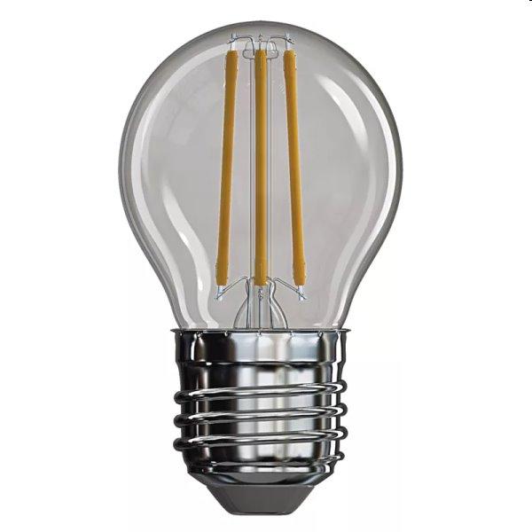 EMOS LED Žiarovka Filament Mini Globe 4W E27, teplá biela