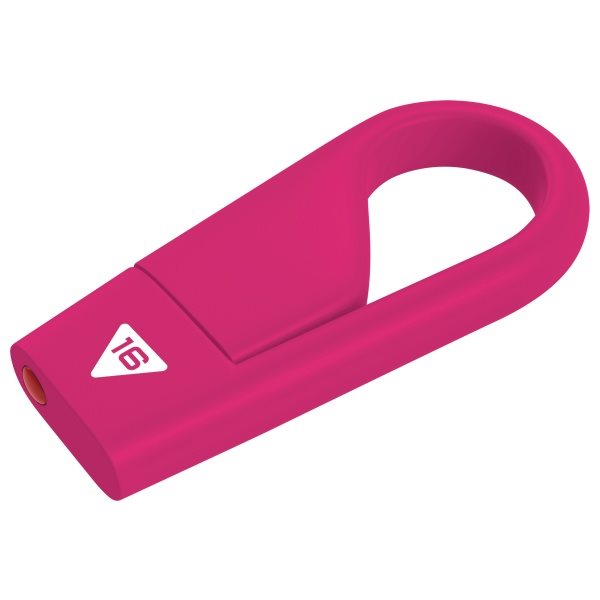 Emtec D200 Hook 16GB - 15MB/s, Pink