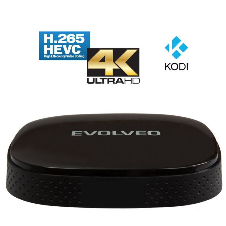 Evolveo Android Box Q3 4K - Quad Core Smart TV box s podporou 4K videa