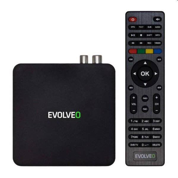 EVOLVEO Hybrid Box T2, Android & DVB-T2 multimediálne centrum