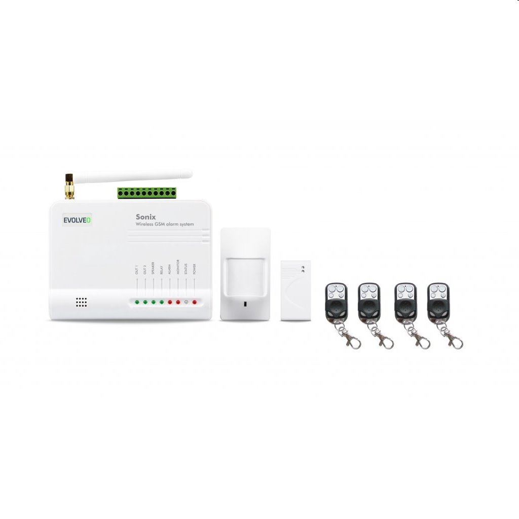 EVOLVEO Sonix, bezdrátový GSM alarm ALM301