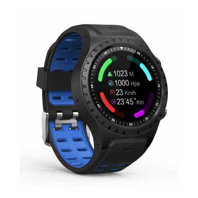 Evolveo SportWatch M1S - chytré športové hodinky s podporou SIM, BlackBlue