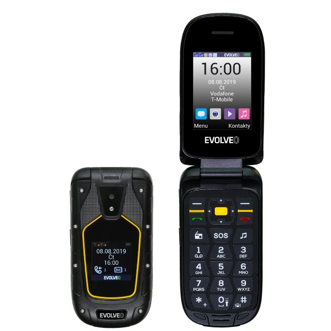 Evolveo StrongPhone F5, Dual SIM, Black - SK distribúcia
