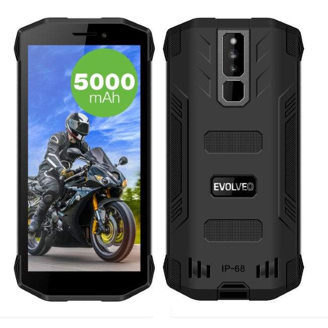 Evolveo StrongPhone G5, LTE, Dual SIM, Black - SK distribúcia
