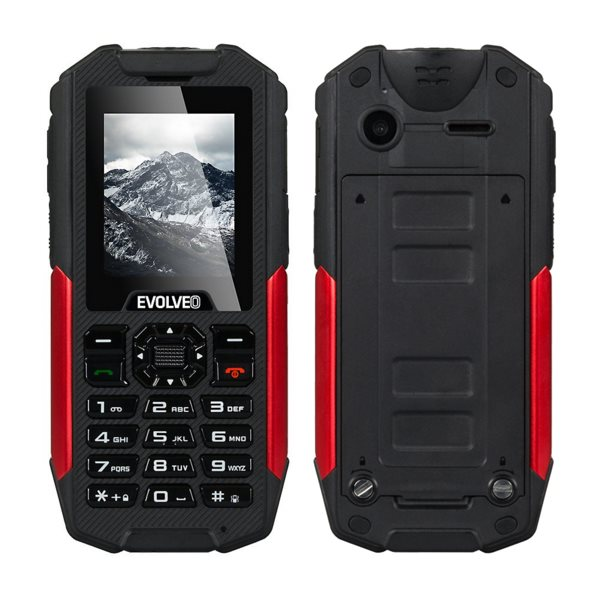 Evolveo StrongPhone X3, Dual SIM, Black/Red - SK distrib�cia