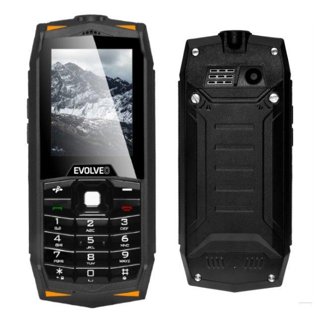 Evolveo StrongPhone Z3, Dual SIM, Black - SK distribúcia