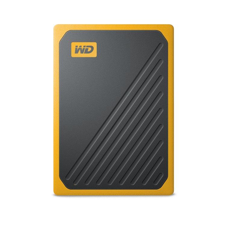 Western Digital SSD My Passport GO, 1TB, USB 3.0, Yellow (WDBMCG0010BYT-WESN)