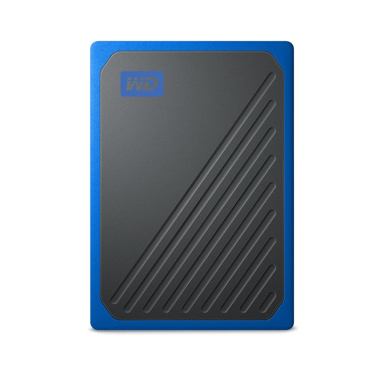 Western Digital SSD My Passport GO, 500GB, USB 3.0, Blue (WDBMCG5000ABT-WESN)