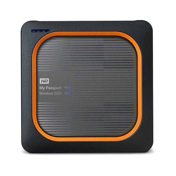 Western Digital SSD My Passport Wireless, 1TB, USB 3.0 (WDBAMJ0010BGY-EESN)