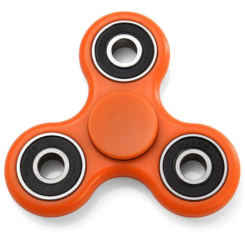 Fidget Spinner, oranžový