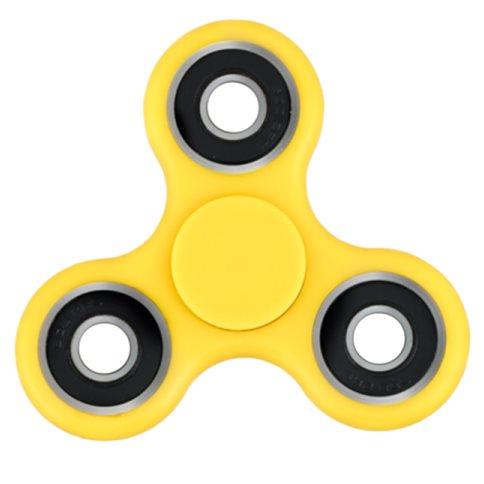 Fidget Spinner, žltý