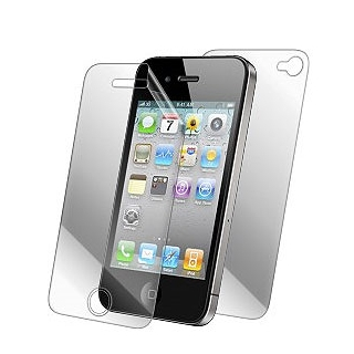 F�lia InvisibleSHIELD na cel� telo pre Apple iPhone 4 a 4S - Do�ivotn� z�ruka