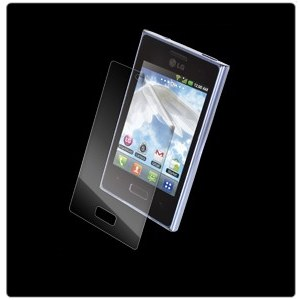 F�lia InvisibleSHIELD na displej pre LG Optimus L3 E400 - Do�ivotn� z�ruka