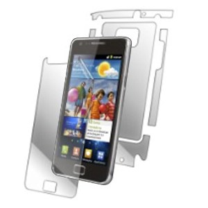 F�lia InvisibleSHIELD na displej pre Samsung Galaxy S2 i9100 a S2 Plus i9105 - Do�ivotn� z�ruka