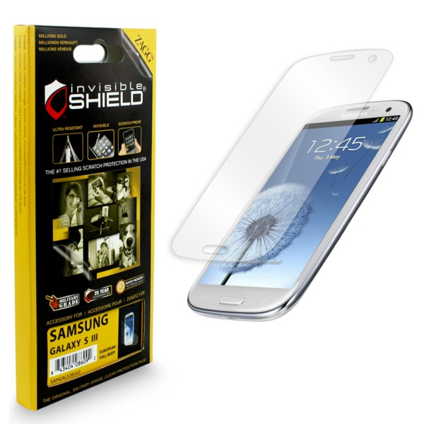 F�lia InvisibleSHIELD na displej