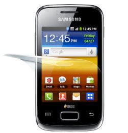 F�lia InvisibleSHIELD na displej pre Samsung Galaxy Y Duos (S6102) - Do�ivotn� z�ruka