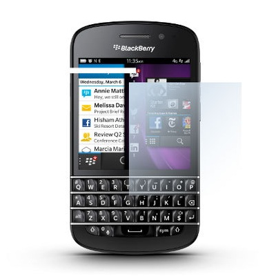F�lia na displej Blackberry ACC-54982-201 pre BlackBerry Q10 - Qwerty a Q10 - Qwertz