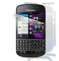 F�lia ScreenShield na cel� telo pre BlackBerry Q10 - Qwerty, BlackBerry Q10 - Qwertz - Do�ivotn� z�ruka