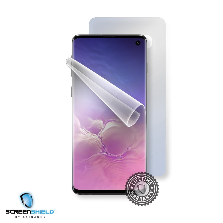 Fólia ScreenShield na celé telo pre Samsung Galaxy S10 - G973F - Doživotná záruka SAM-G973-B