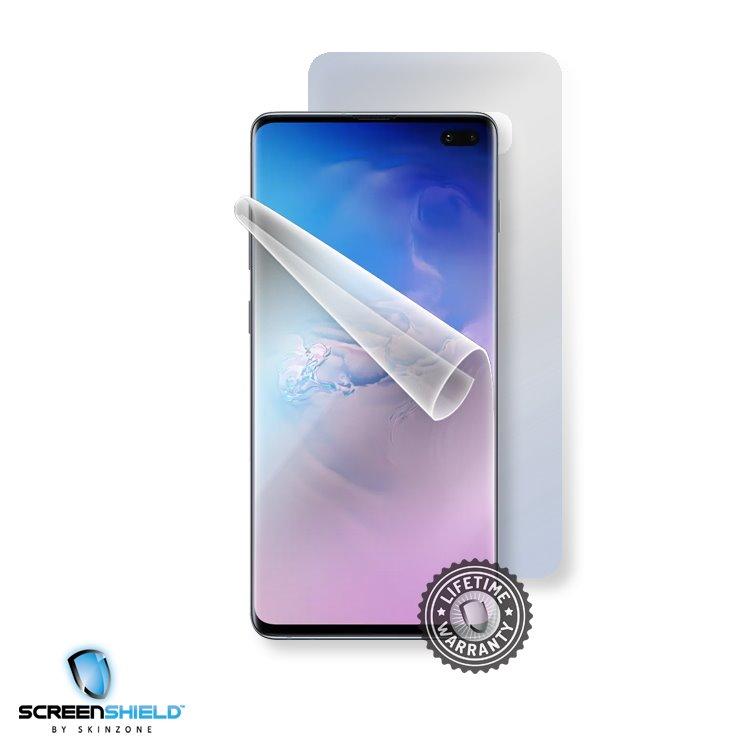 Fólia ScreenShield na celé telo pre Samsung Galaxy S10 Plus - G975F - Doživotná záruka SAM-G975-B