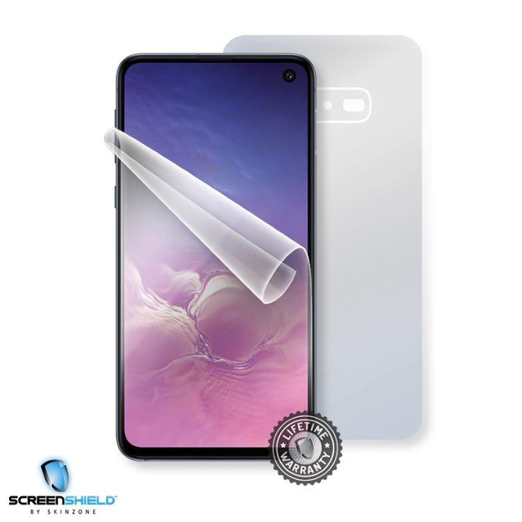 Fólia ScreenShield na celé telo pre Samsung Galaxy S10e - G970F - Doživotná záruka SAM-G970-B