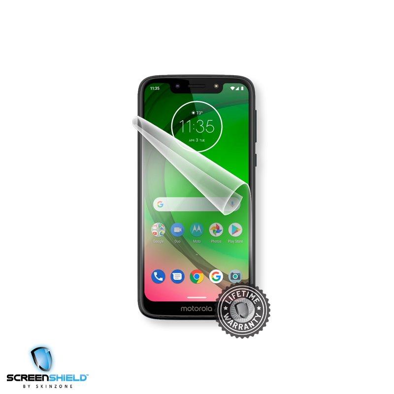 Fólia ScreenShield na displej pre Motorola Moto G7 Power - Doživotná záruka