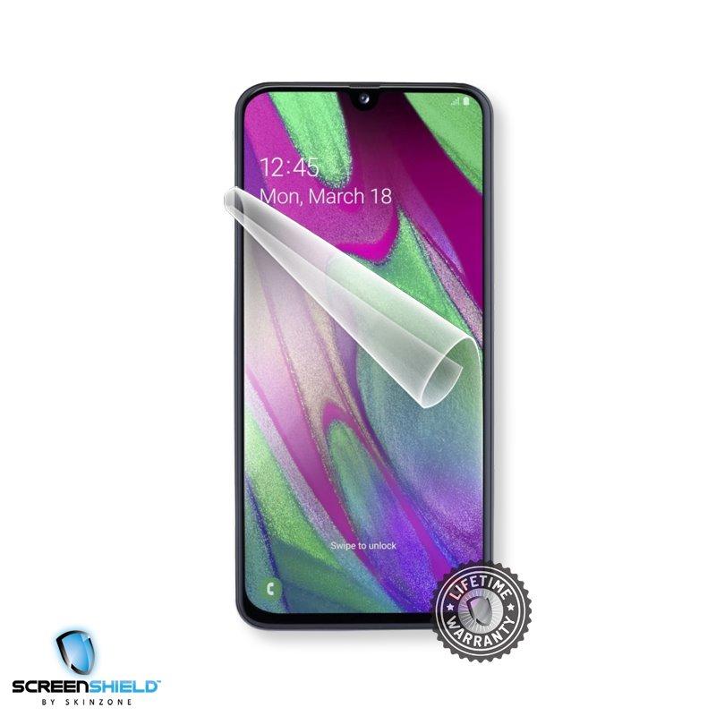 Fólia ScreenShield na displej pre Samsung Galaxy A40 - A405F - Doživotná záruka SAM-A405-D