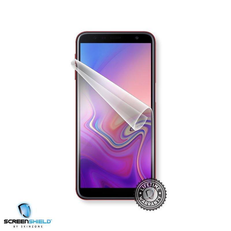 Fólia ScreenShield na displej pre Samsung Galaxy J6 Plus - J610F - Doživotná záruka
