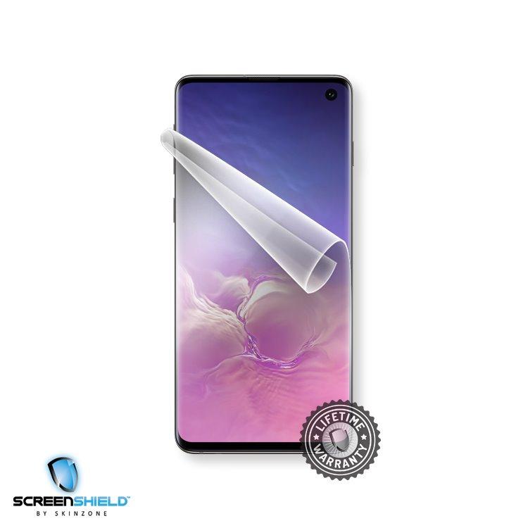 Fólia ScreenShield na displej pre Samsung Galaxy S10 - G973F - Doživotná záruka