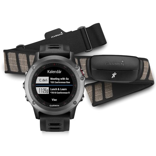 Garmin FENIX 3, Grey - Performer Bundle | Odoln� inteligentn� hodinky