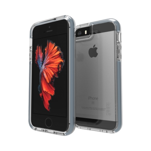 GEAR4 kryt Piccadilly D30 pre iPhone SE/5s/5 - Grey IC5SE02D3