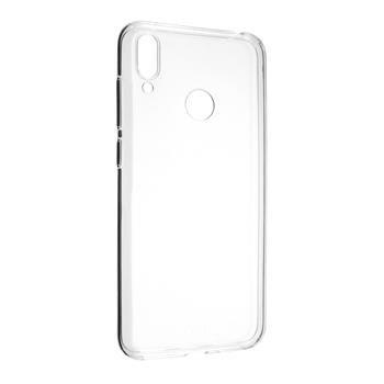 Gélové TPU puzdro Fixed pre Huawei Y7 (2019), Transparent FIXTCC-386