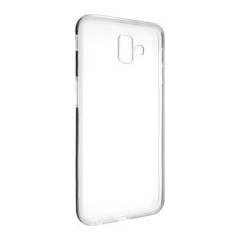 Gélové TPU puzdro Fixed pre Samsung Galaxy J6 + (2018), Transparent FIXTCC-352