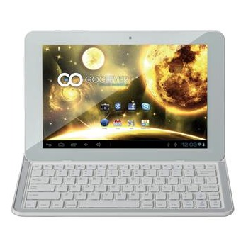 "GoClever Tab Orion 101, 10.1"", Android OS + bluetooth kl�vesnica, White"