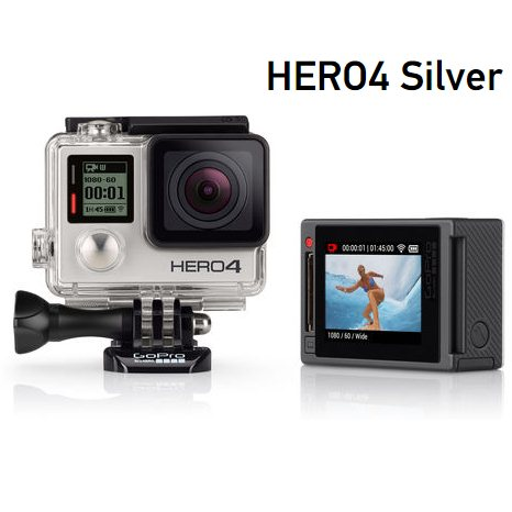 GoPro HERO 4, Silver Edition