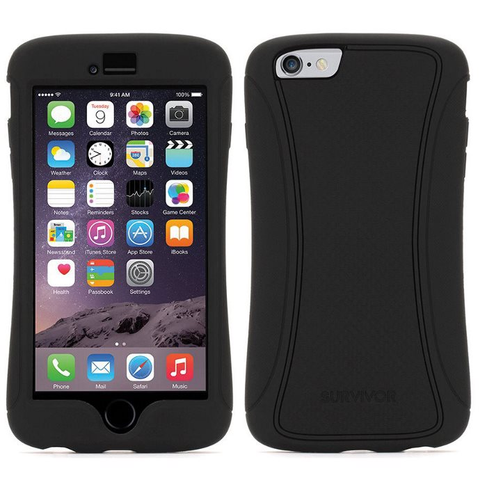Griffin Survivor Slim GB40557 pre Apple iPhone 6 Plus, Apple iPhone 6S Plus, Black