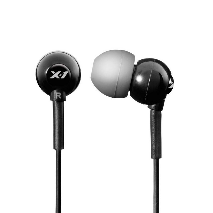 H2O Audio X-1 Flex In Ear, Black