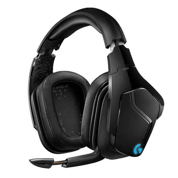 Herné slúchadlá Logitech G935 Wireless 7.1 Llightsync Gaming Headset
