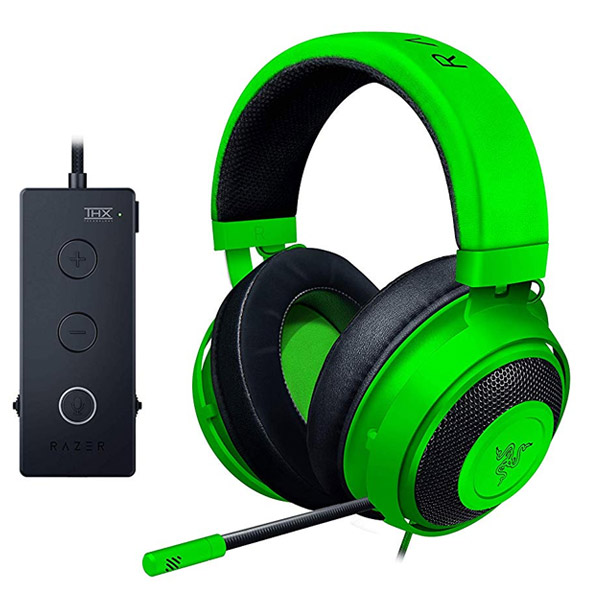 Herné slúchadlá Razer Kraken, green (Tournament Edition)