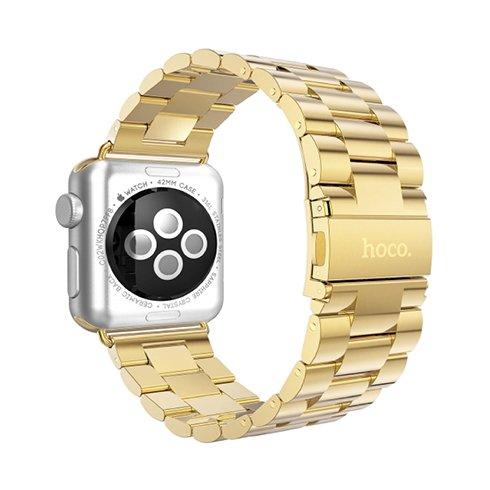 HOCO remienok Premium Edition pre Apple Watch 42/44 mm - Gold