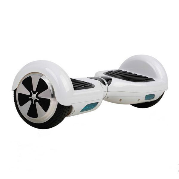 "Hoverboard Arašid 6,5"", biely"