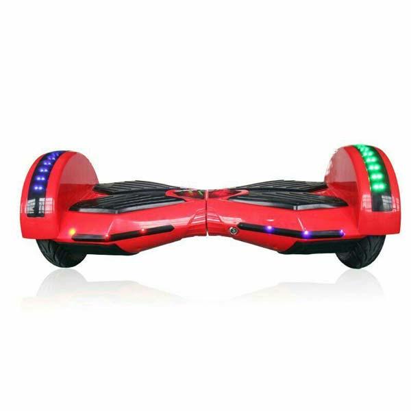 """Hoverboard Arašid 8"""", červený"""