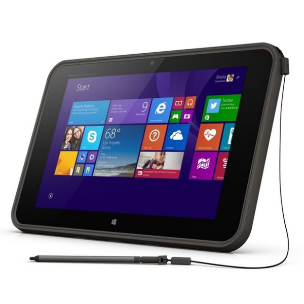 HP Pro Tablet 10 EE G1, 32GB, Win 8.1 Bing, Grey + Stylus