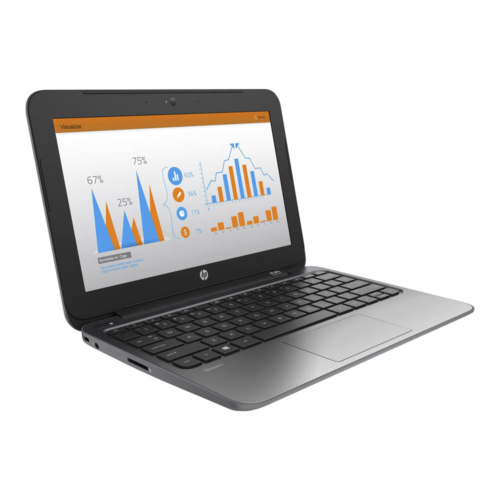 HP Stream 11 Pro; Celeron N2840 2.16GHz/4GB RAM/32GB SSD/HP Remarketed