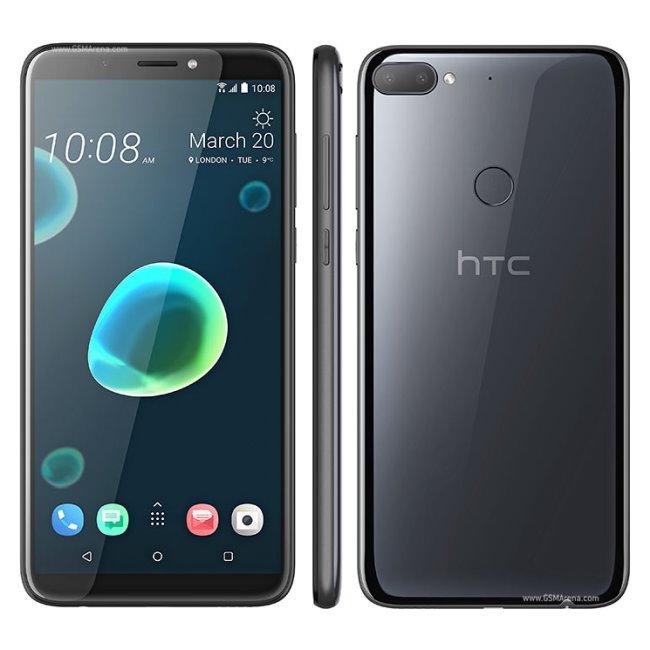 HTC Desire 12 Plus, Dual SIM, Black - SK distribúcia