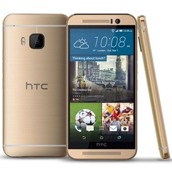 HTC ONE - M9, Gold on Gold - SK distrib�cia