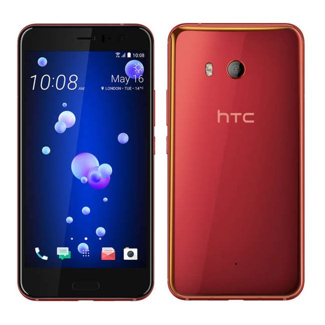 HTC U11, 64GB, Dual Sim, Red
